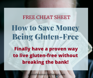 How to Save Money Being Gluten-free