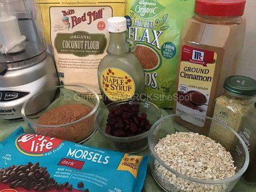 gluten-free energy bite ingredients