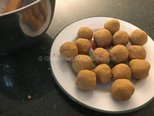 Gluten-free Pumpkin Bites with Chocolate