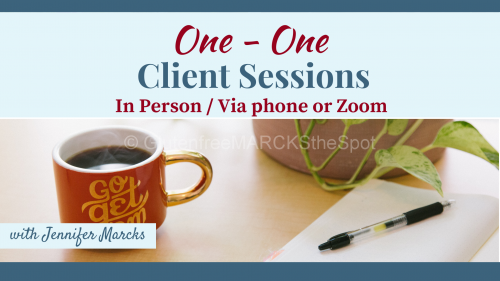 One on One Client Sessions