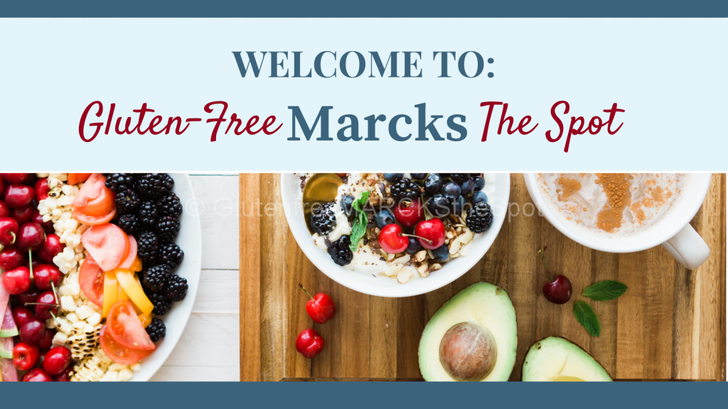 welcome to gluten-free Marcks the spot