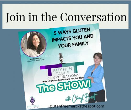 Kitchen Table Conversations Show Discussing Gluten