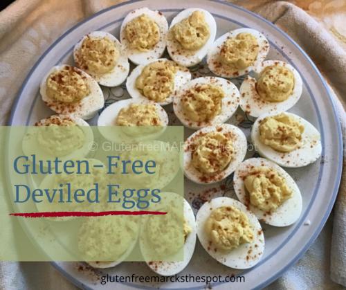 Gluten-Free Deviled Eggs