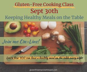 Gluten-Free Cooking Class