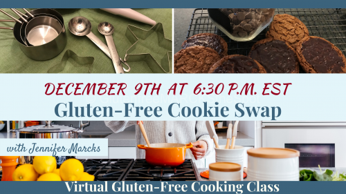 December Gluten-Free Cooking Classes