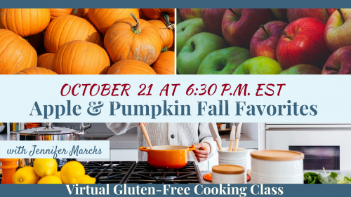 October Gluten-Free Cooking Classes