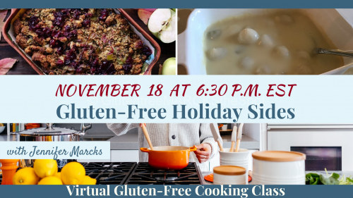 November Gluten-Free Cooking Classes