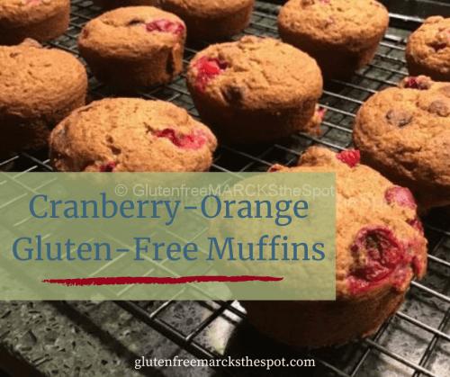 Cranberry Orange Gluten-Free Muffins