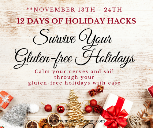 Survive Your Gluten-free Holidays Challenge