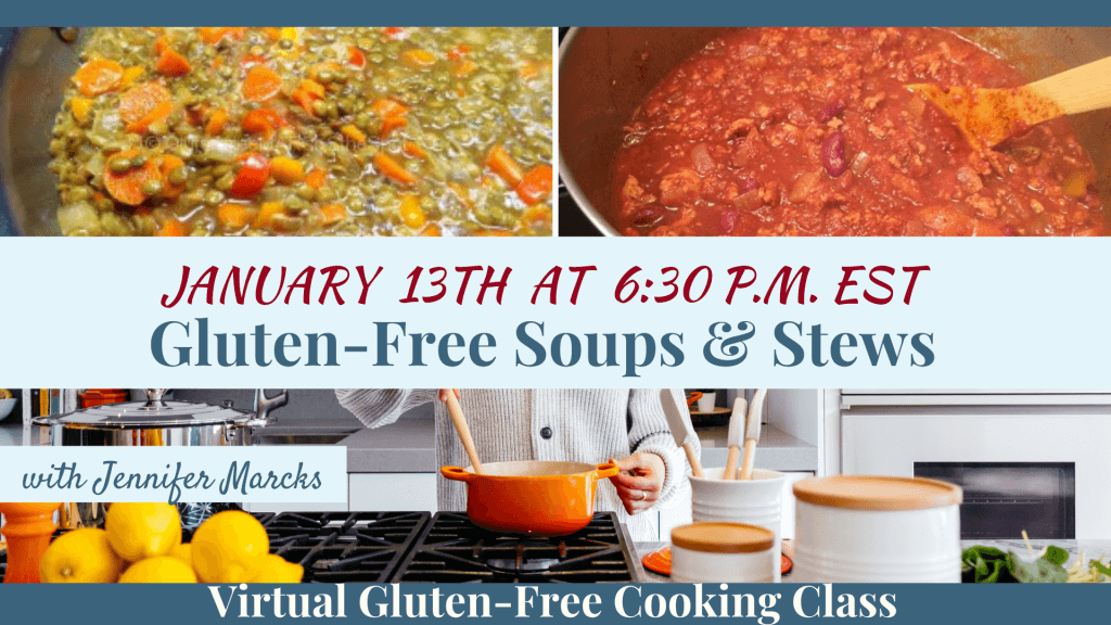 January Gluten-Free Cooking Classes