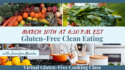Virtual Gluten-Free Cooking Classes