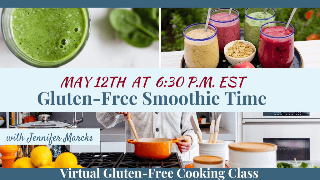 Gluten-Free Virtual Cooking Classes