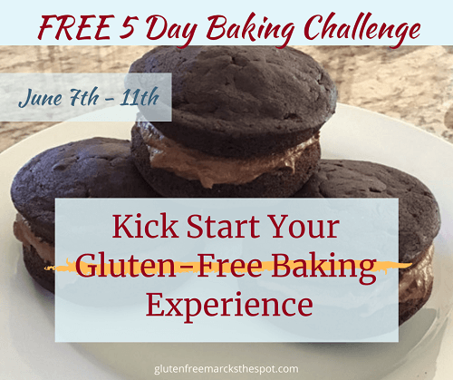 Join the Gluten-Free Baking Challenge from June 7-11th and learn to bake gluten-free treats everyone will love